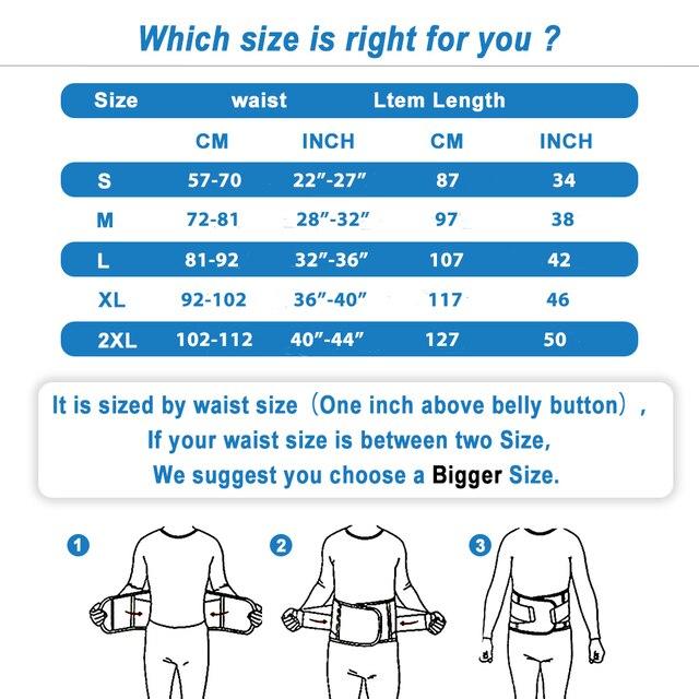 Body Shaper Waist Trainer Trimmer Corset Waist Belt Cincher Wrap Workout Shapewear Fitness 5