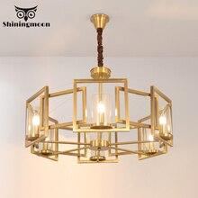 French Luxury Crystal Chandelier Lighting Golden Copper Bedroom Chandeliers Modern Led Living Room Loft Hanging Lights Lustre