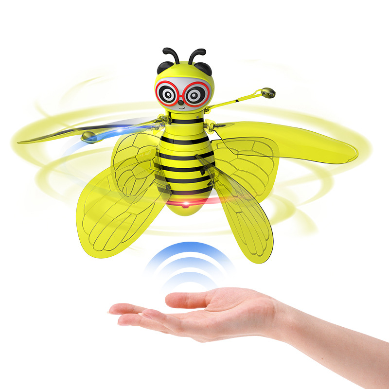 Free Tian Xiao Flying Immortal Flying Remote Control Sensing Fairy Aircraft Universal Charging Suspension CHILDREN'S Toy 0.25