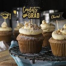 Klasse Von 2021 Kuchen Topper Graduation Bachelor Kappe Kuchen Decor Congrats Grad Kuchen Topper Graduation 2021 Party Dekoration Lieferungen