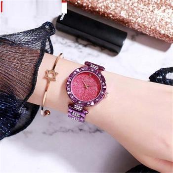 2020 New Arrivel Women Rhinestone Luxury Casual Quartz Watch Korean fashion trend female Watch