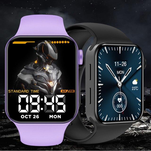 CHYCET IWO Watch 7 Smartwatch Smart Watch Men Women DIY Face Fitness Tracker Watch For Xiaomi Huawei PK DT100 IWO 13 Pro 2021 1