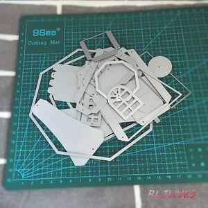 Image 3 - 3D Mulino A Vento di Metallo Fustelle Stencil per il FAI DA TE Scrapbooking Timbro/album di foto Decorative Goffratura di Carta FAI DA TE Carte