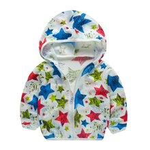 Baby Jacket Summer Air-conditioner Garment Anti-mosquito with Cap Thin Breathable Children Sun-protective Clothing Jacket baby jacket spring summer girls sun protective clothing children outwear cardigan girl leisure thin clothes floral sweatshirt