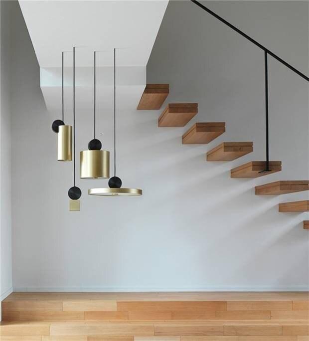 Modern Nordic Stainless Steel Metal LED 4 Light Pendant Light Kit for Dining Bedrooom Light Fixtures Home Decor Lamp Luminaire|Pendant Lights| |  - title=