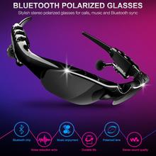 Smart Bluetooth 5.0 Headset Wireless Polarized Sunglasses Sports Driving Glasses Earphone Universal