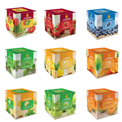 1000G Al Fakeher Shisha Flavor Turkey Glass Mint Series Mixed Flavors for Hookahs Herb Glass Smoking Pipe for Hookah Pen