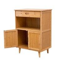 Sideboard lockers modern simple bamboo lockers high footed space tea cupboard wine cabinet Restaurant