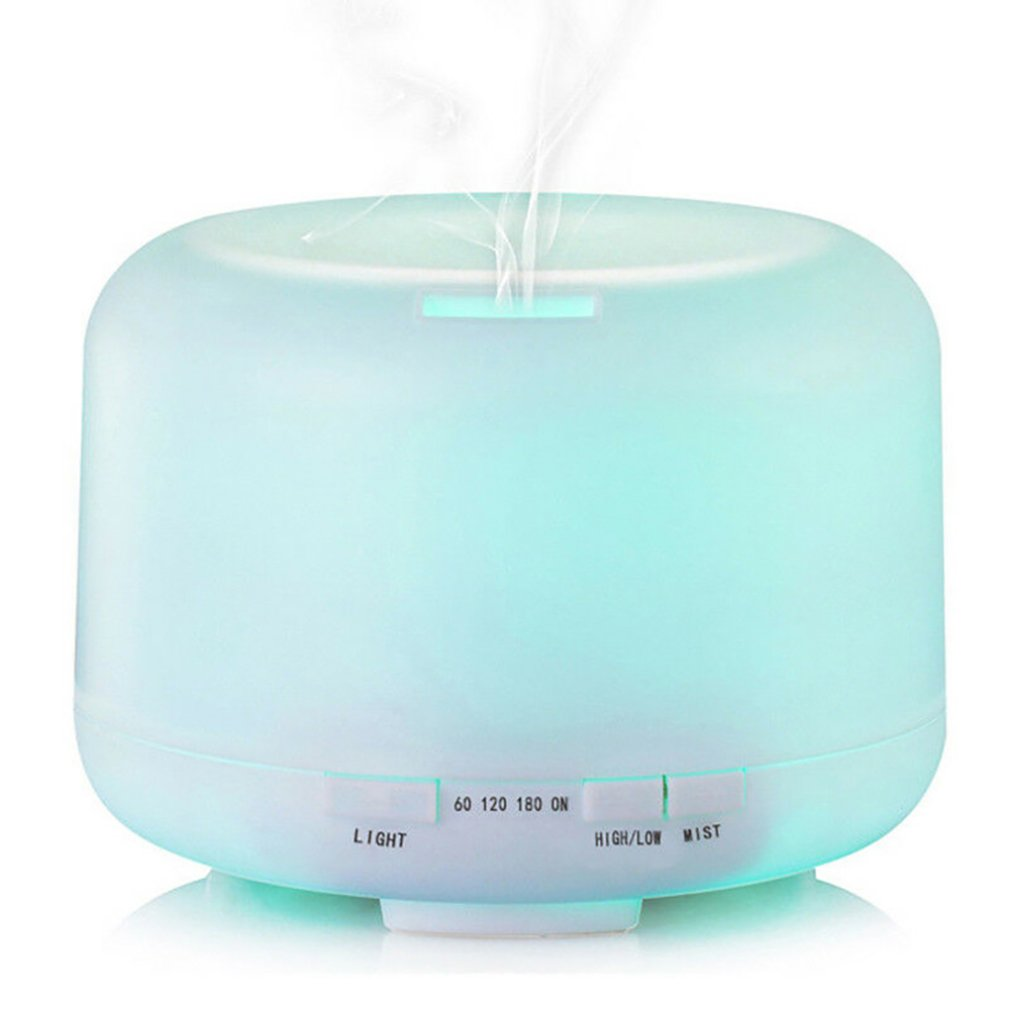 500ml Large-Capacity Household Aromatherapy Machine 500Ml 7 Led Humidifier Air Aromatic Oil Diffuser Aromatherapy Atomizer