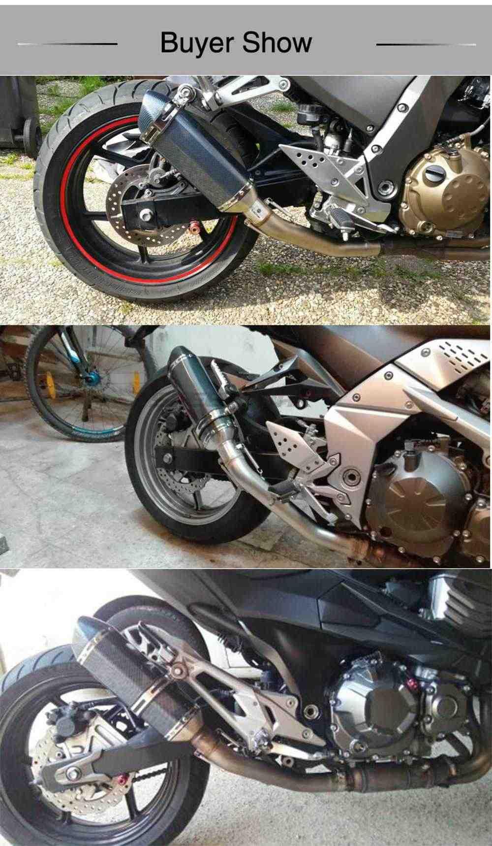 36-51Mm Universele Motorfiets Uitlaat Wijzigen Uitlaat Db Killer Voor Honda Kawasaki Yamaha Suzuki Atv Dirt Pit