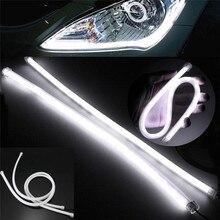 Light-Angel-Eyes DRL Running-Lights Car Strip LED Led-Tube 30cm Daytime Flowing Flexible