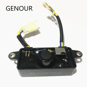 Image 1 - Lihua AVRตัวควบคุมแรงดันไฟฟ้าอัตโนมัติสำหรับเครื่องกำเนิดไฟฟ้าอะไหล่2KW 2.5KW 3KW 6สายTT21 12มีวงจรป้องกันBreakฟังก์ชั่น