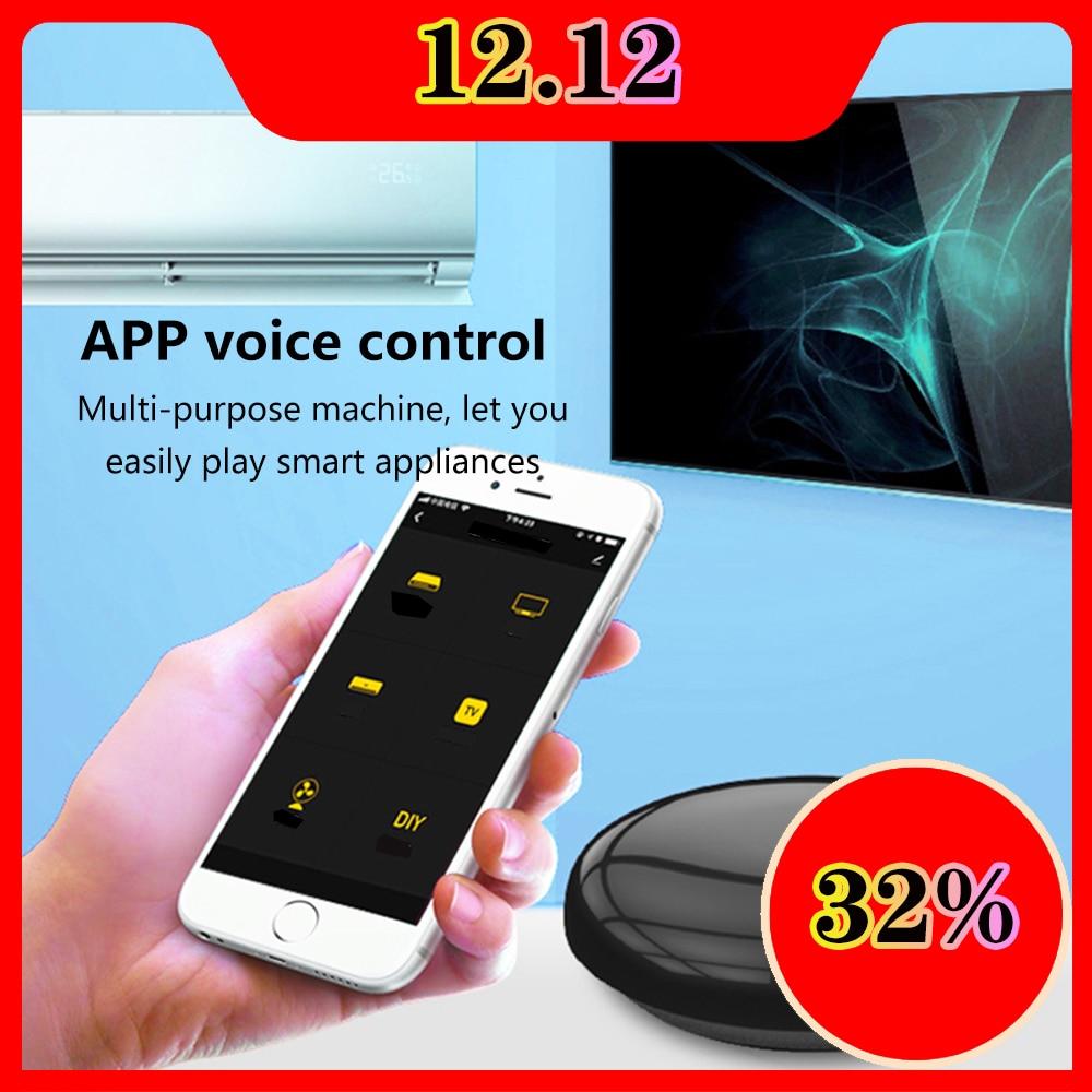 Learning Remote Control Wifi-IR Tuya Smart Life Mini Voice Alexa Control 10,000 Products Furlife Phone APP 14m TV Remote Control