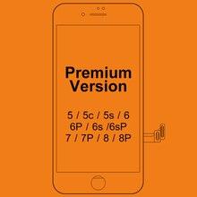 Pantalla LCD para iphone 7, digitalizador LCD de calidad Premium Tianma con tacto 3D, para iphone 7, 10 Uds.