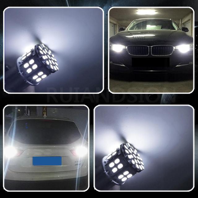 светодиодные лампы 12 w 50 1206smd 1157 bay15d 2057 2357 7528 фотография