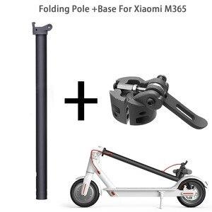 Image 1 - Vis de verrouillage de Base de tige pliante pour Xiaomi M365 Scooter pliant pôle support de tige pièces de rechange de Base crochet pliant pour Xiaomi M365