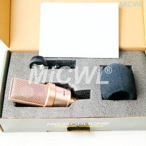 Image 2 - Büyük diyafram kardioid kondenser TLM102 mikrofon ağ PC sahne şarkı kayıt mikrofon MiCWL