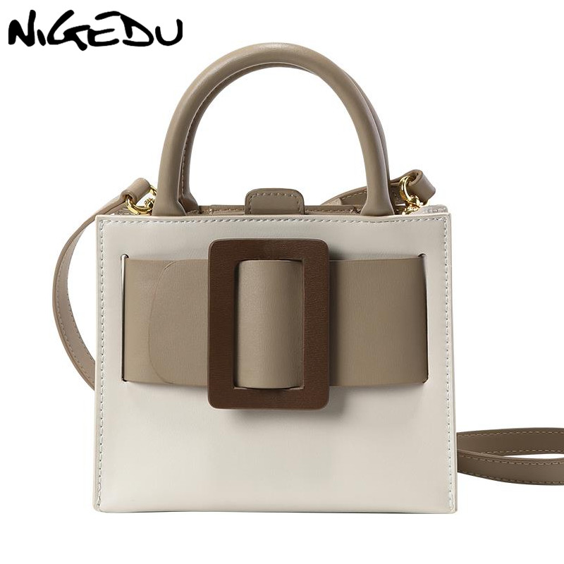 NIGEDU Fashion Mini Women Handbag Designer 2020 New Ladies Crossbody Bags PU Leather Woman Shoulder Bag Small Bolsos Hand Bag