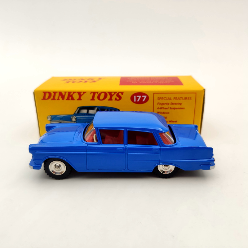 DeAgostini 1:43 Dinky Toys 177 Opel Kapitan Met Vensters Diecast Models Collection