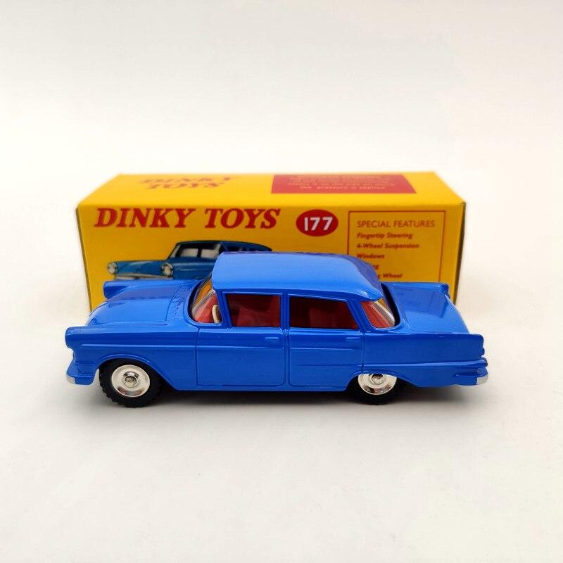 deagostini 1 43 dinky brinquedos 177 opel kapitan met vensters diecast modelos colecao