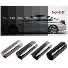 Película opaca para ventana de coche, 1 rollo de 50cm X 1m, 1/5/15/25/35/50% de película opaca para ventana, pegatina de protección solar Uv, adhesivos de lámina