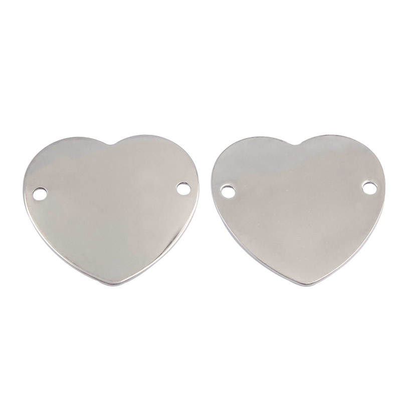 10 pcs of stainless steel teardrop pendant stamping blank pendant