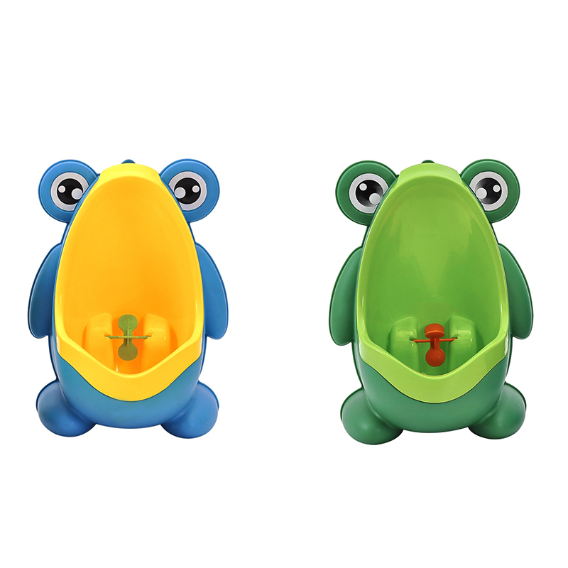 Baby Frog Urinal Babies Boys Potty Toilet Children's Urinal Baby Boy Bathroom Toilet Child Training Pee Stand Vertical Toilet