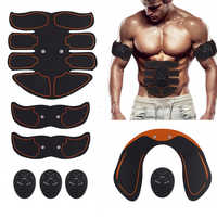 Fitness Abdominal Muscle Trainer Sport Press Stimulator Gym Equipment training apparatus Home Electric Belly exercises Machine