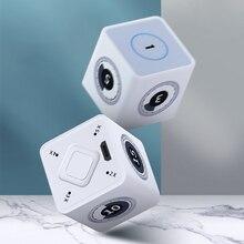 Aminno Timecube Timer Keuken Cube Oplaadbare Stijlvolle Mini 1 100 Minuten Management, Ingebouwde Gyroscoop