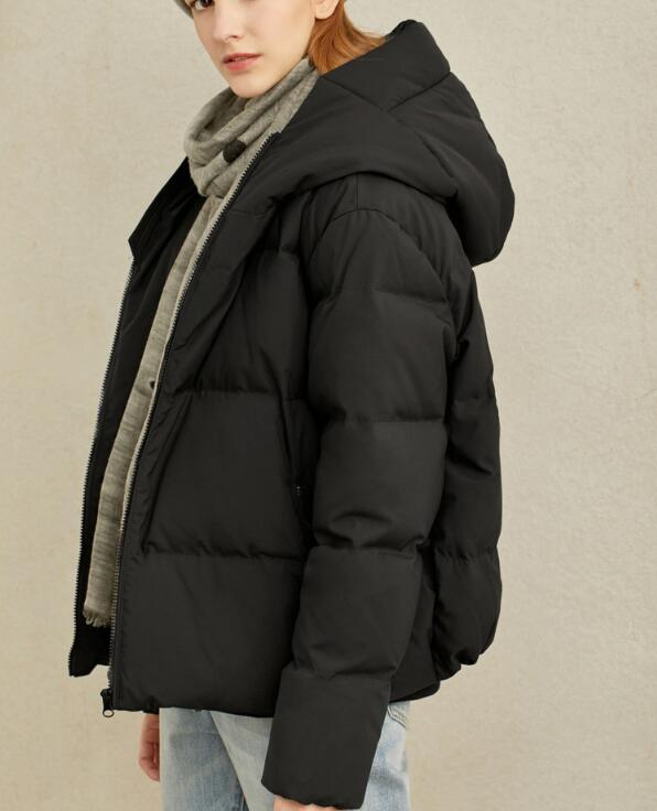 Size S-10XL Women Winter Down Jacket  Hooded Warm Duck Down Jacket Coat A-Line  Winter Warn Jacket Coat Custom Made Plus Size