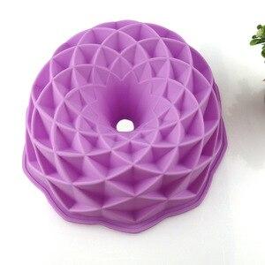 3D форма для выпечки хлеба, форма для пиццы, силиконовая большая форма для торта, форма для торта в форме короны, формы для выпечки, инструмент...