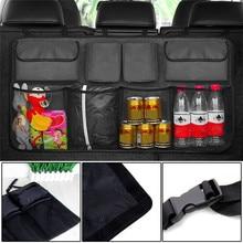 Multifunction Mesh Pocket Hanging Boot Car Seat Tidy Storage Organiser New  Organizer Accessories
