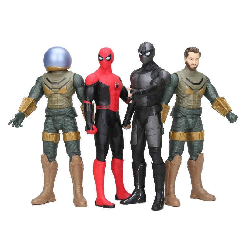 30 centímetros Marvel Spider-Man: longe de Casa Mysterio Quentin Beck Spiderman Peter Parker Série Legends PVC Figure Toy Modelo