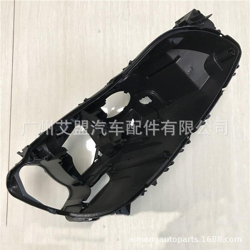 Fatto per BMW sette serie posteriore del faro shell 0915 BMW7 serie faro base F01F02 in plastica nera shell alloggiamento del faro