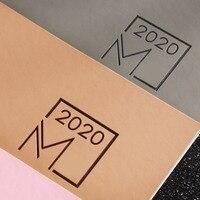 Записная книжка 2020, планировщик, дневник, книга для совещаний, школьные канцелярские принадлежности, Ежемесячный план, товары для продажи