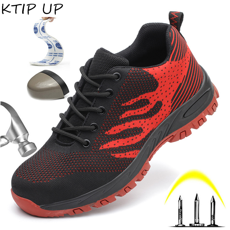 Indestructible Shoes Men Safety Work