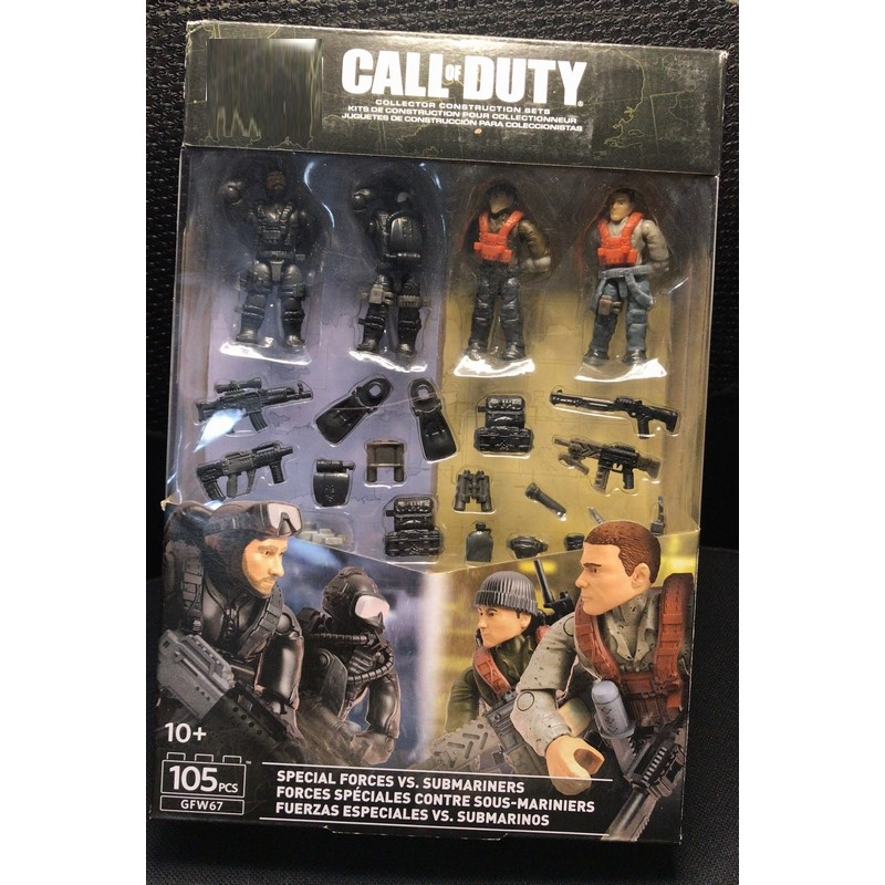 Call Of Duty  MEGA Special Forces Vs Sub Mariners GFW67