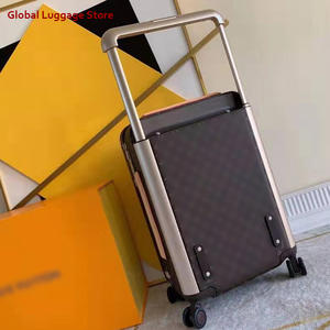 21inch luxurious rolling luggage Coated canvas exterior