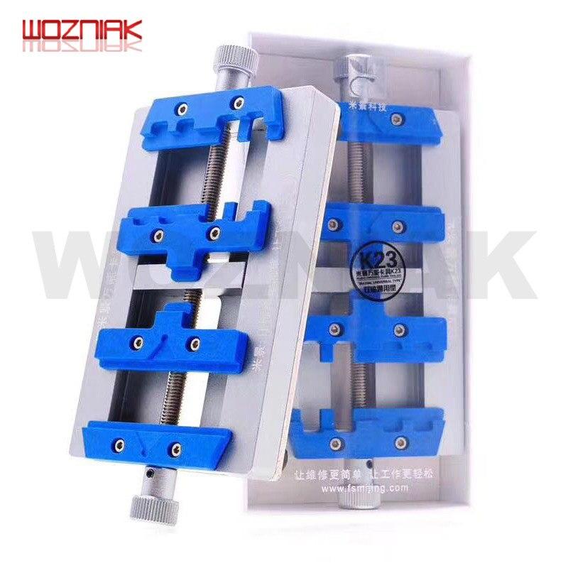 MJ K23 Dual Shaft PCB Soldering Holder for iPhone Repair Motherboard Soldering Repair Fixture for Samsung Welding Repair Tool