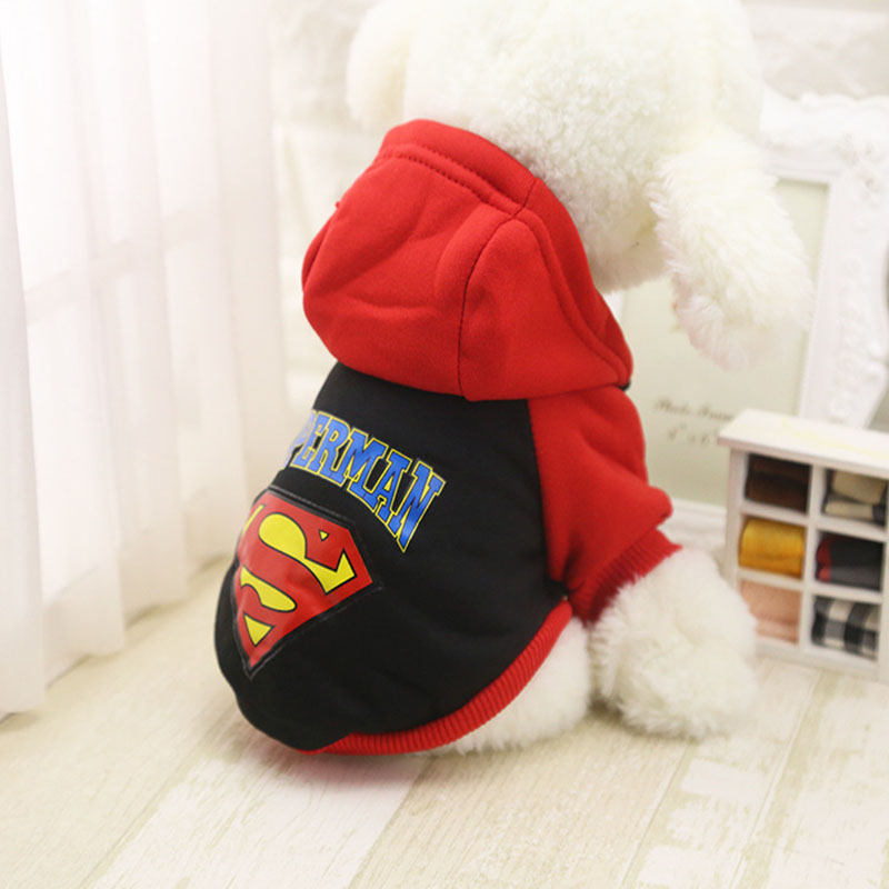 Cartoon Dog Hoodie Winter Pet Dog Clothes For Dogs Coat Jacket Cotton Ropa Perro French Bulldog Clothing For Dogs Pets Clothing