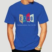 Stark Industries T-Shirt Stark Expo 74 T-Shirt homme mignon T-Shirt graphique coton à manches courtes mode surdimensionné T-Shirt 8038D