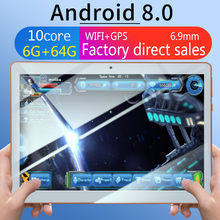 10 Inci Tablet PC 4G Android 7.0 Quad Core Super Tablet RAM 4GB ROM 64GB WIFI GPS 10.1 Tablet IPS Dual SIM Gps Tablet(China)