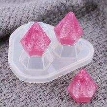 Pendant Soap-Mould Jewelry Cake-Decorating Kitchen-Supplies Handmade Diamond Silicone
