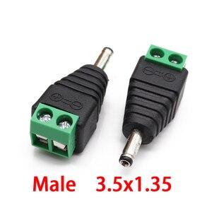 Image 3 - 12V 24V Nam Nữ DC Phích Cắm Điện 3.5X1.35 Mm 5.5X2.1 Mm 5.5X2.5 Mm Camera Quan Sát Jack Kết Nối Adapter Cắm Truyền Hình Chuyển Đổi Adapter