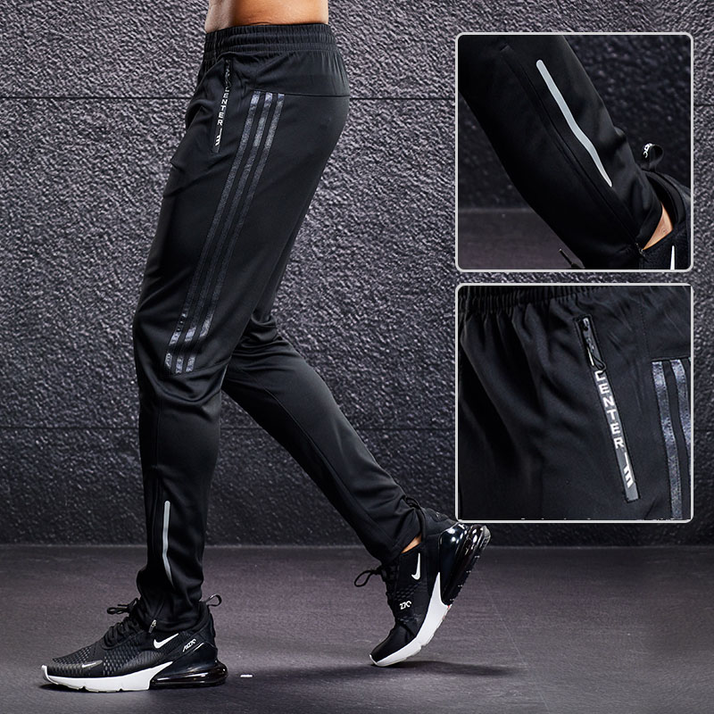 Men Summer Fitness Pants Elastic Breathable Sweat Outwear Sports Trousers TP