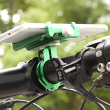 Bike Cellphone Holder Aluminium Alloy Mobile Phone Mount for Motorcycle Mountain Bicycle  AS99