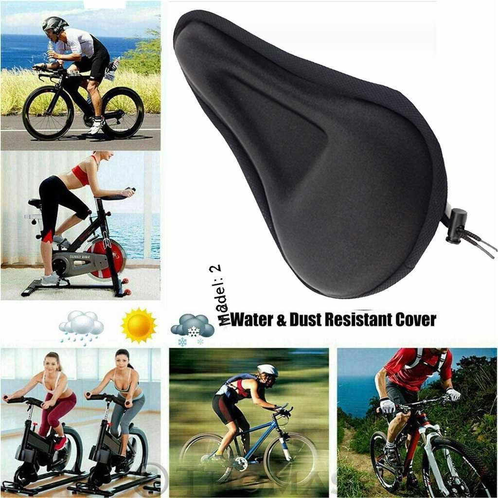 Mountain Bike Comfort Soft Gel Pad Cushion Saddle Seat Cover Bicycle Cycle