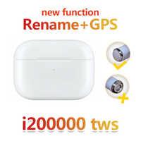 NEW i200000 TWS Super Copy Air pro3 Wireless Bluetooth Earphone pk w1 h1 1536u i90000 pro i30000 i100000 i9000 TWS airpoding