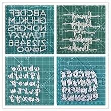 YaMinSanNiO 2020 New Letter Dies Metal Cutting Dies Scrapbooking For Card Making Metal Craft Dies Alphabet Die Cuts Embossing большая книга концепт кары
