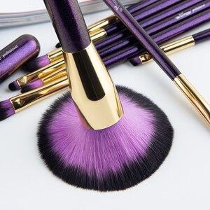 Image 2 - ANMOR 10 Pcs Make Up Pinsel Set Für Foundation Powder Blush Lidschatten Concealer Lip Eye Make Up Pinsel Kosmetik Schönheit Werkzeuge
